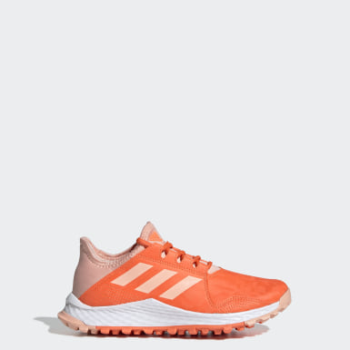 Kinder Feldhockey Hockey Youngstar Schuh Orange