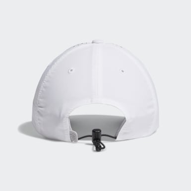 Women Golf White Performance Perforated Hat