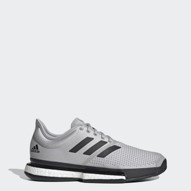 Men Tennis Grey SoleCourt Parley Shoes