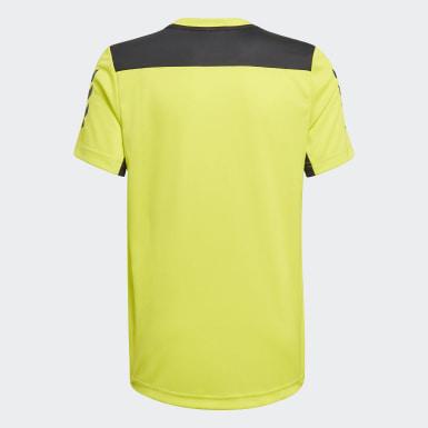 T-shirt XFG AEROREADY Primeblue Giallo Ragazzo Training