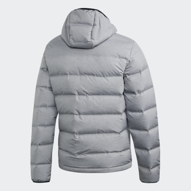 Men City Outdoor Grey Helionic Jacket