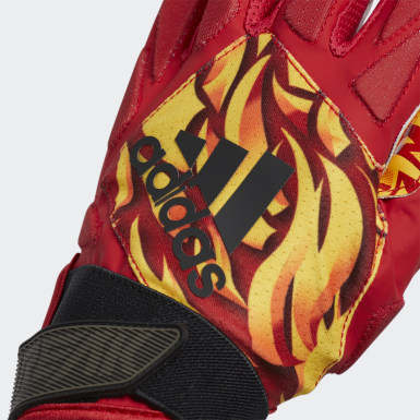 Football Red Freak 4.0 Fire Gloves
