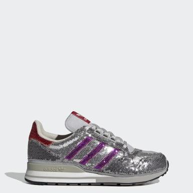 Sapatos ZX 500 Cinzento Mulher Originals