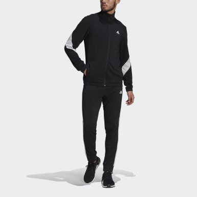 Tuta adidas Sportswear Cotton Nero Uomo Athletics