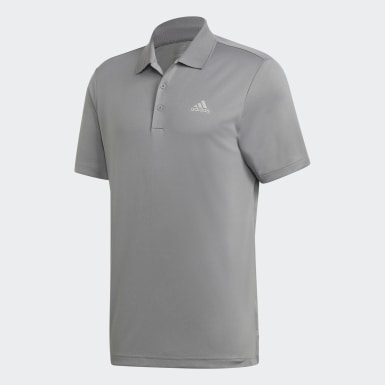 Men Golf Grey Performance LC Polo Shirt