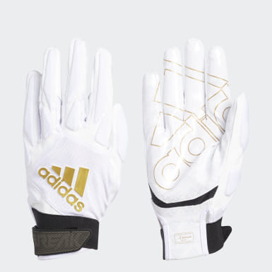 Men's Football White Freak 4.0 Gloves