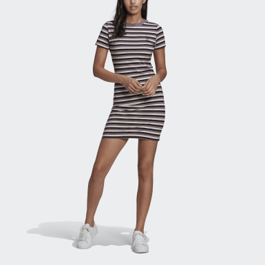 Women's Originals Black Striped Dress