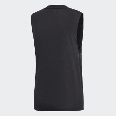 Débardeur Must Haves Badge of Sport noir Femmes Essentials