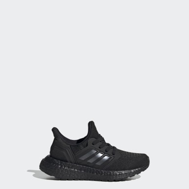 Kids Running Black UltraBOOST 20 EL C