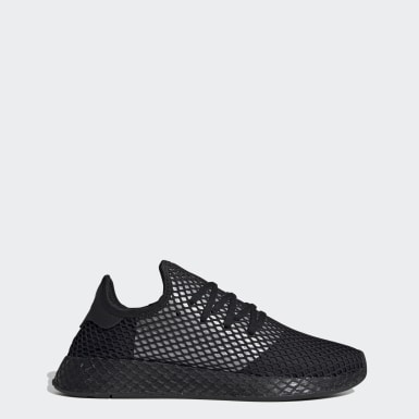 Mænd Originals Sort Deerupt Runner sko