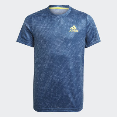 Youth 8-16 Years Tennis Blue HEAT.RDY Primeblue Tennis Freelift T-Shirt