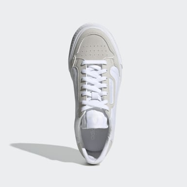Youth 8-16 Years Originals White Continental Vulc Shoes