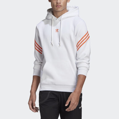 Men's Originals White Hoodie with Swarovski® crystals