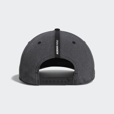 Men Golf Black A-Stretch Badge of Sport Tour Cap