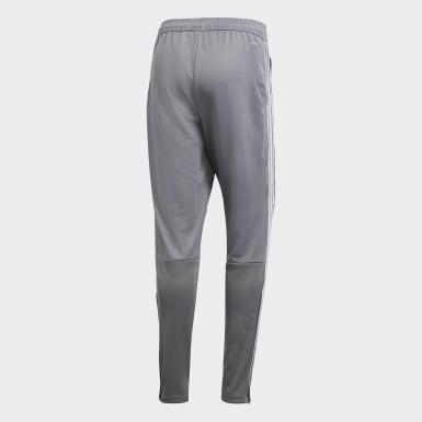 ผู้ชาย ฟุตบอล สีเทา กางเกงเทรนนิงขายาว Tiro 19