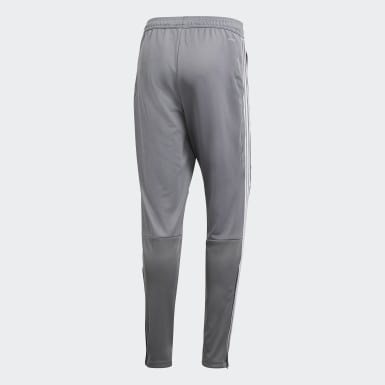 Men Soccer Grey Tiro 19 Training Pants