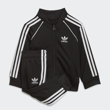 Barn Originals Svart Adicolor SST Track Suit