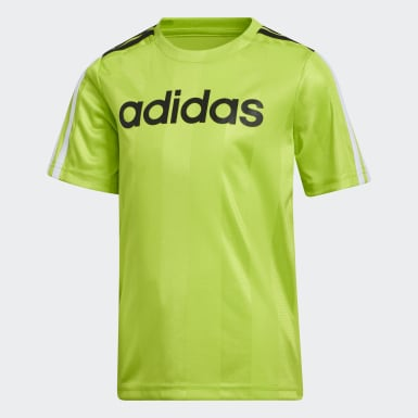 Youth Training Green Stripe Tee