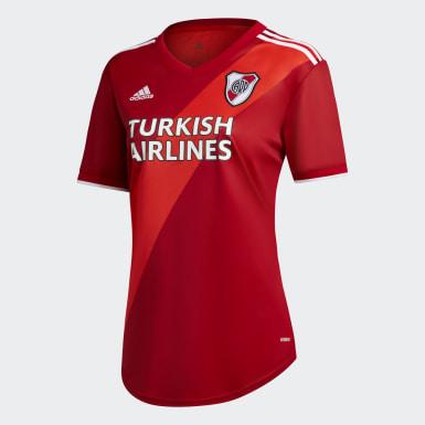 Camiseta Visitante River Plate 20/21 Rojo Mujer Fútbol