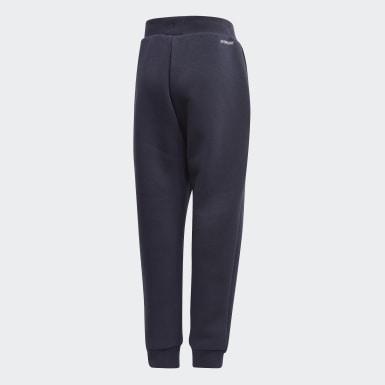 Boys Træning Blå Fleece bukser