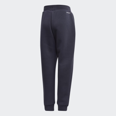Pantaloni Fleece Blu Ragazzo Training