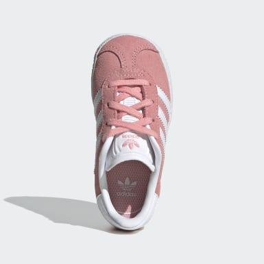 Děti Originals růžová Obuv Gazelle