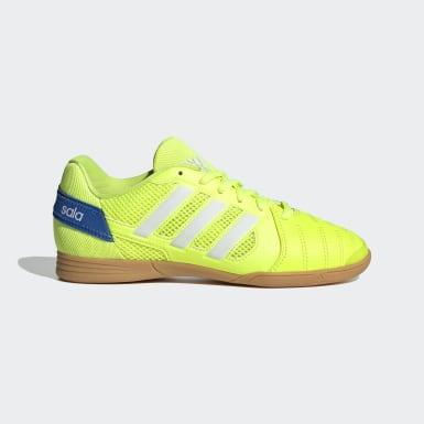 Kluci Futsal žlutá Obuv Top Sala