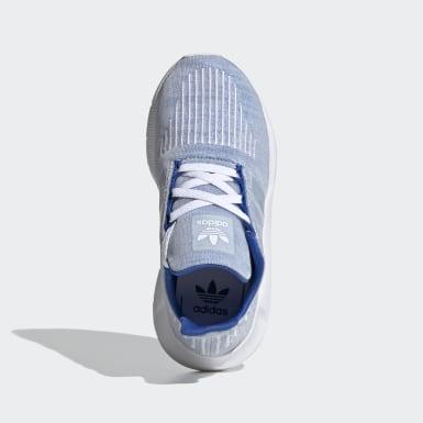 Kids 4-8 Years Originals Blue Swift Run Shoes