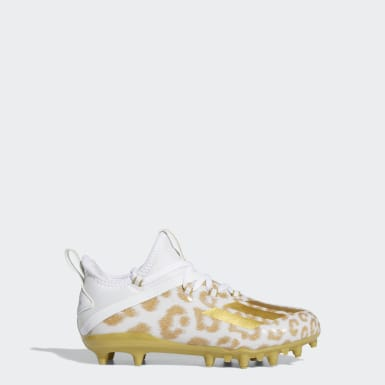 Youth Football White Adizero X Anniversary Cleats
