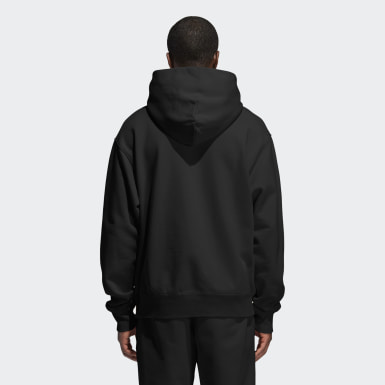 Originals Zwart Pharrell Williams Basics Hoodie (Uniseks)