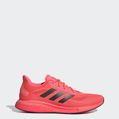 Men Running Pink Supernova Shoes