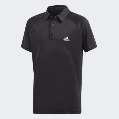 Polo Club Negro Niño Tenis Y Pádel