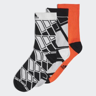 Děti Trénink bílá Ponožky Crew – 3 páry