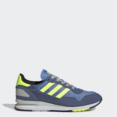Heren blauw Ademend Festival Lifestyle | adidas België