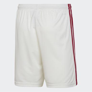 Shorts 1 CR Flamengo Branco Meninos Futebol