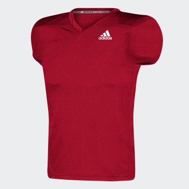 Men's Football Red Practice Jersey