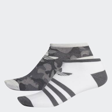Originals สีเทา ถุงเท้า Camouflage Liner