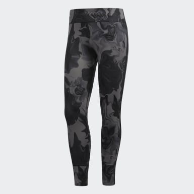 Women Running Grey Response Tights