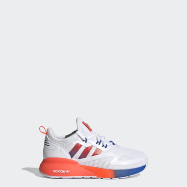 Kids Originals White ZX 2K Shoes