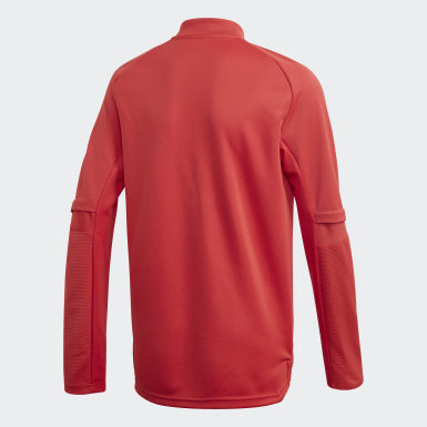 Youth 8-16 Years Football Red Belgium Training Top