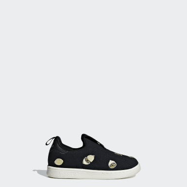 Kids Originals Black Stan Smith 360 Shoes