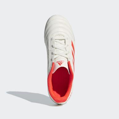 Children Football Beige Copa 19.4 Flexible Ground Boots