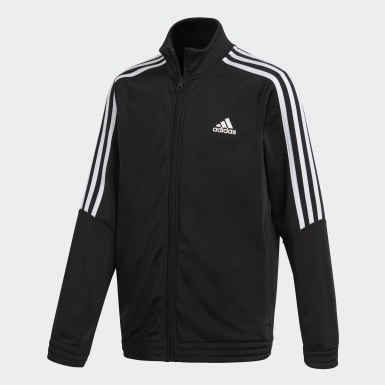 Kids Athletics Black Tiro Track Suit