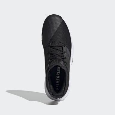 Men Tennis Black GameCourt Tennis Shoes