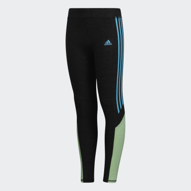 Youth Training Black AEROREADY Core Favorite Tights