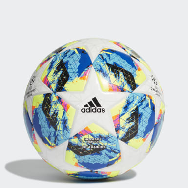 Men's Soccer White Finale Top Training Ball
