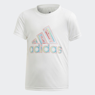Boys Yoga White Tee