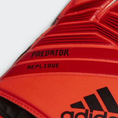 Guantes de Arquero de Entrenamiento Predator Top Rojo Hombre Fútbol