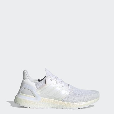 Running White Ultraboost 20 Shoes