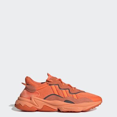 Zapatillas Adidas Naranja Fluor Botitas Mujer Deportes y